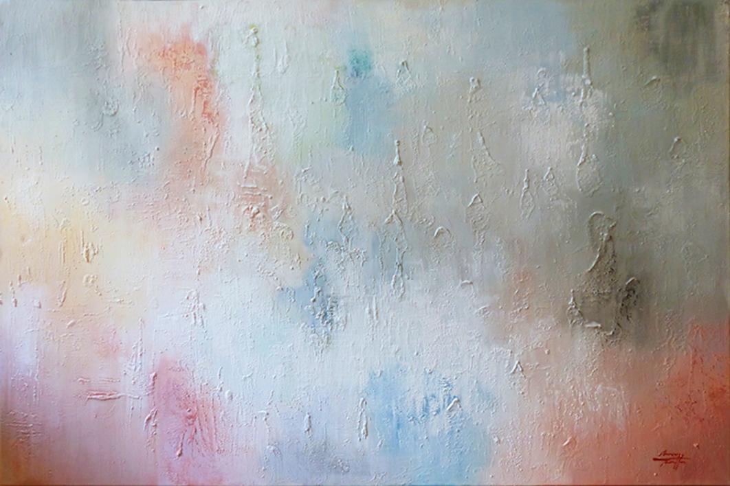 Volver a empezar |Pintura de Maria Miralles | Compra arte en Flecha.es