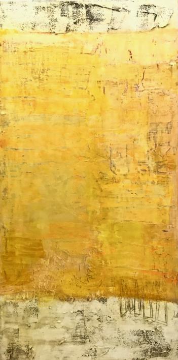 Campos de vida III  Pintura de Agnès Rodon   Compra arte en Flecha.es