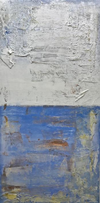 Cielos y mares IV |Pintura de Agnès Rodon | Compra arte en Flecha.es