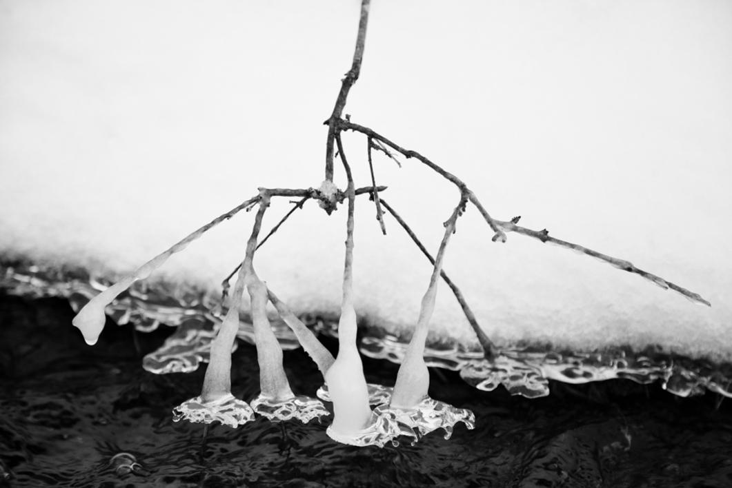 Nieve, agua y hielo  Fotografía de Verónica Velasco Barthel   Compra arte en Flecha.es