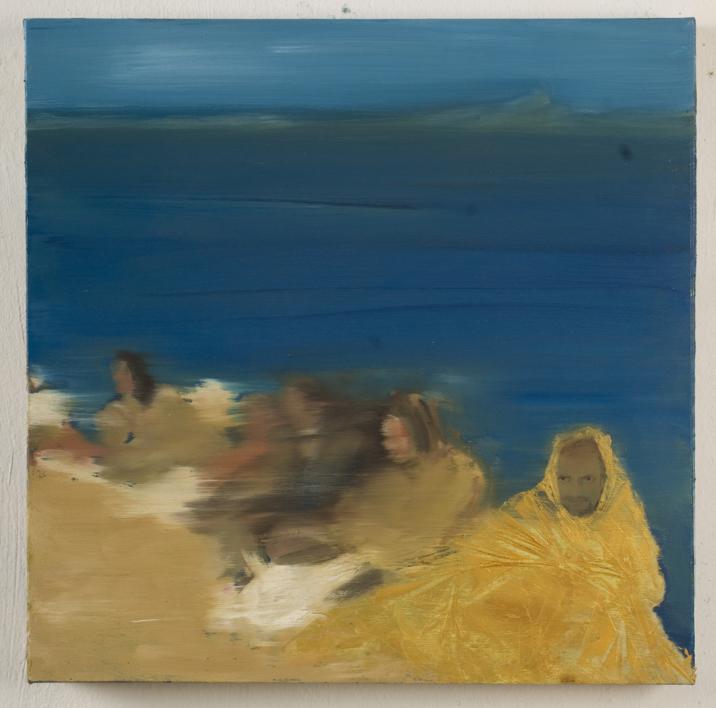 The Crossing I |Pintura de Eliana Perinat | Compra arte en Flecha.es