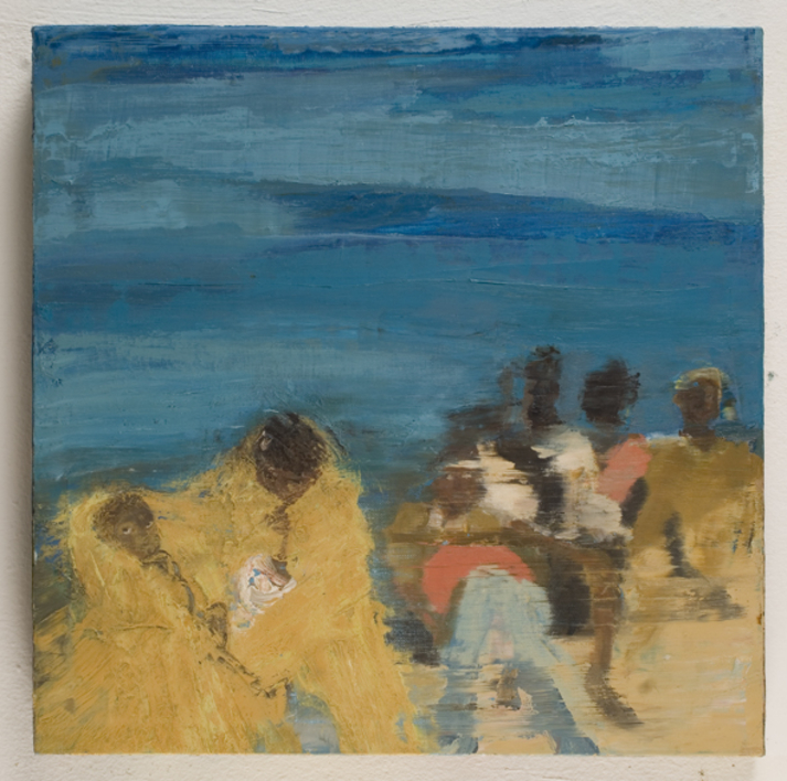 The Crossing II  Pintura de Eliana Perinat   Compra arte en Flecha.es