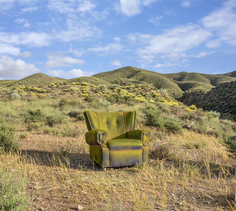 Primavera en el desierto |Fotografía de Leticia Felgueroso | Compra arte en Flecha.es