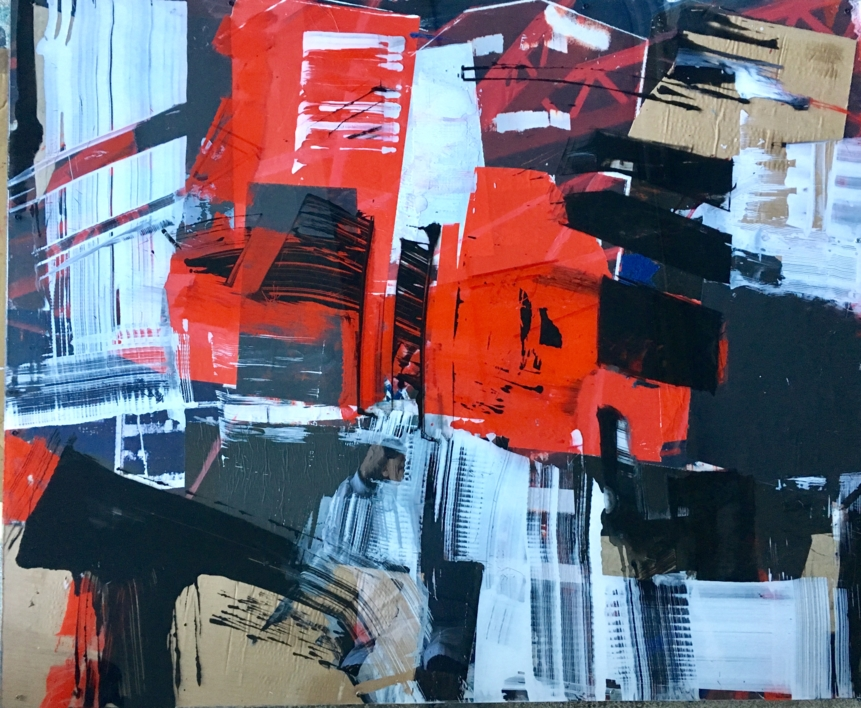 CONSTRUCCIONES I |Collage de Erika Nolte | Compra arte en Flecha.es
