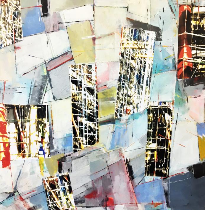 W-3 |Collage de Erika Nolte | Compra arte en Flecha.es