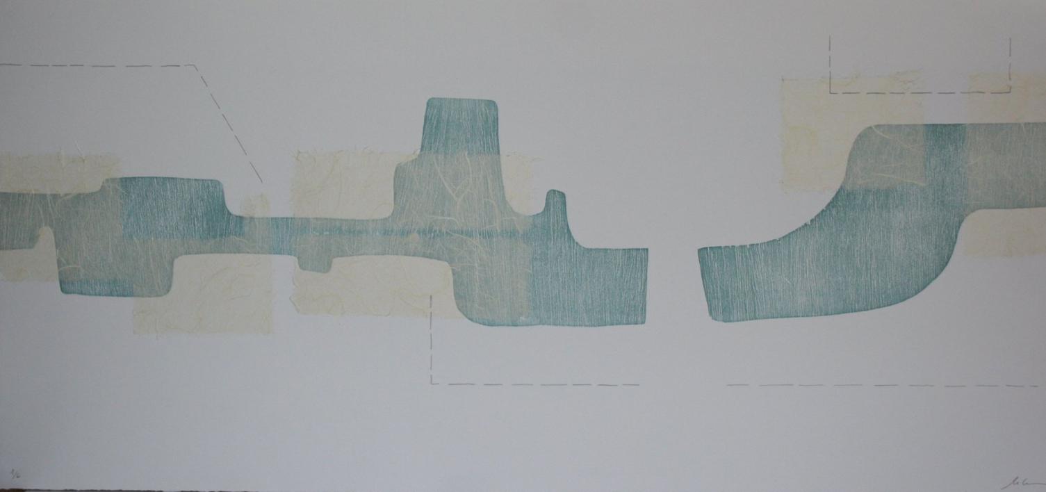En dos pasos |Obra gráfica de Cruz Sánchez | Compra arte en Flecha.es
