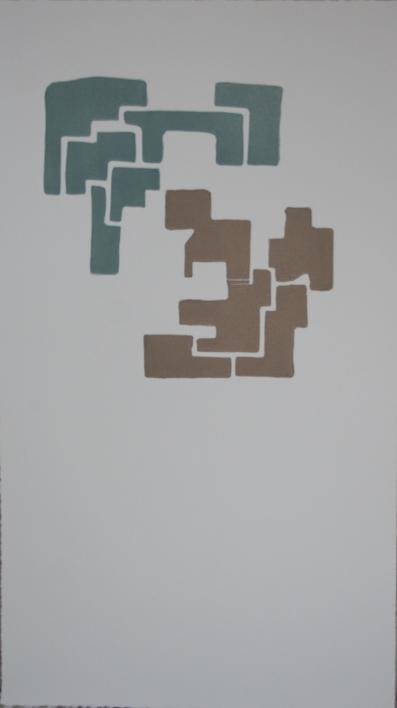 En el centro |Obra gráfica de Cruz Sánchez | Compra arte en Flecha.es
