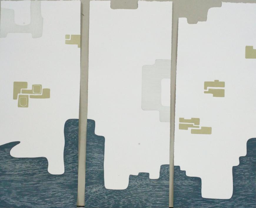 Dos por tres |Obra gráfica de Cruz Sánchez | Compra arte en Flecha.es