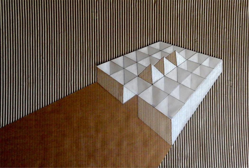 Pirámides |Collage de Ana Pellón | Compra arte en Flecha.es