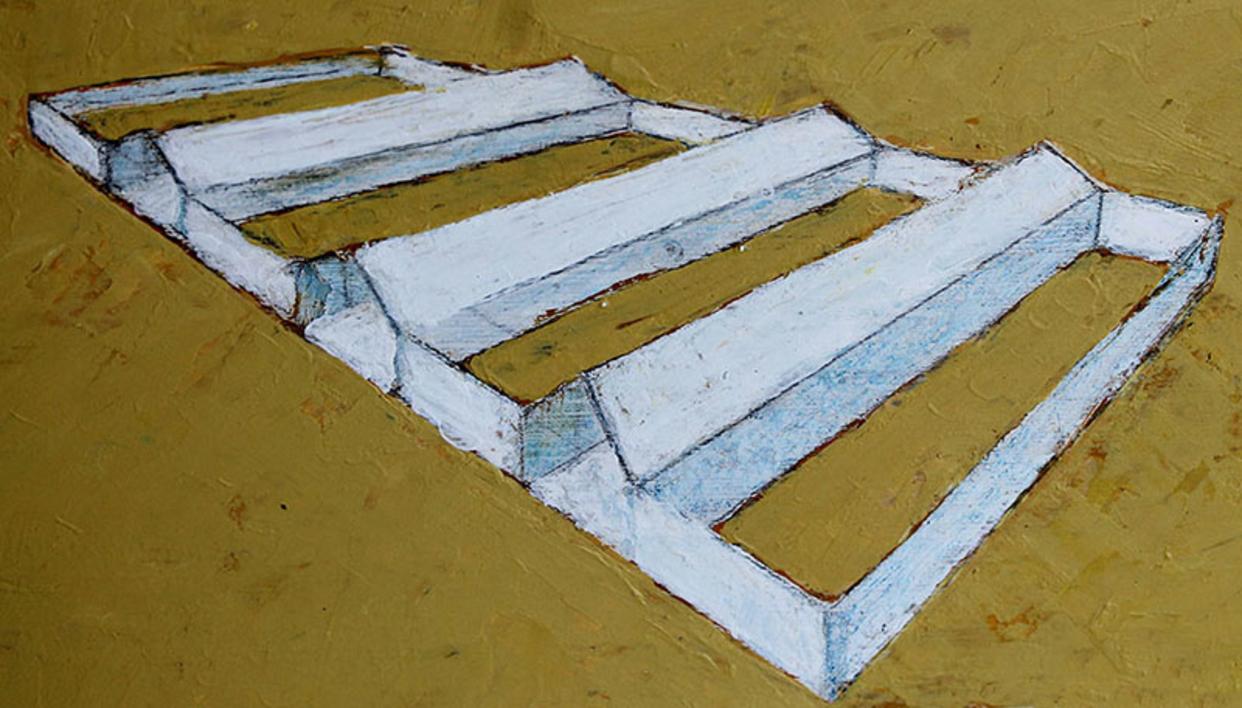 Naves |Pintura de Ana Pellón | Compra arte en Flecha.es