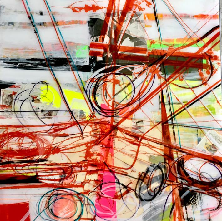 GUIÑO AL GUERNICA |Collage de Erika Nolte | Compra arte en Flecha.es