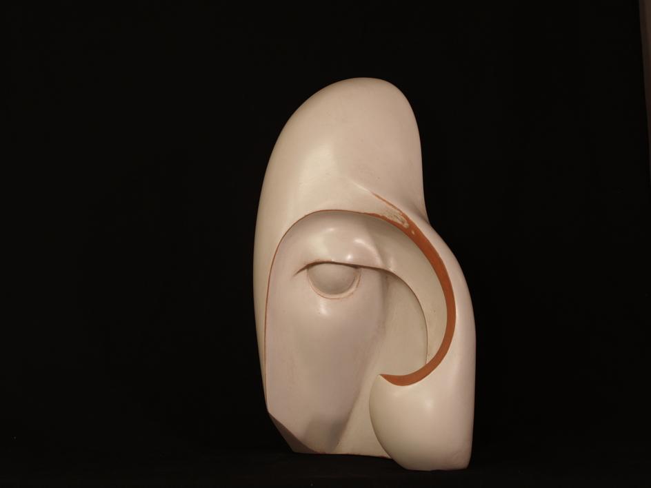MUJER CON MELENA | Escultura de Rafael Heredia | Compra arte en Flecha.es