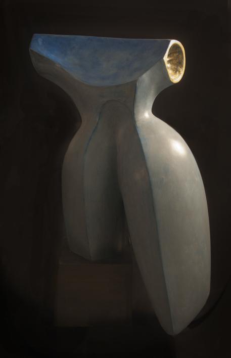 EL ESCOTE |Escultura de Rafael Heredia | Compra arte en Flecha.es