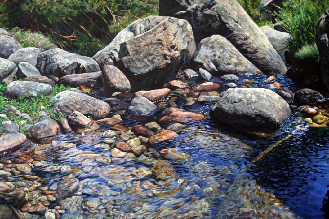 Fluyendo | Pintura de Javier Ramos Julián | Compra arte en Flecha.es