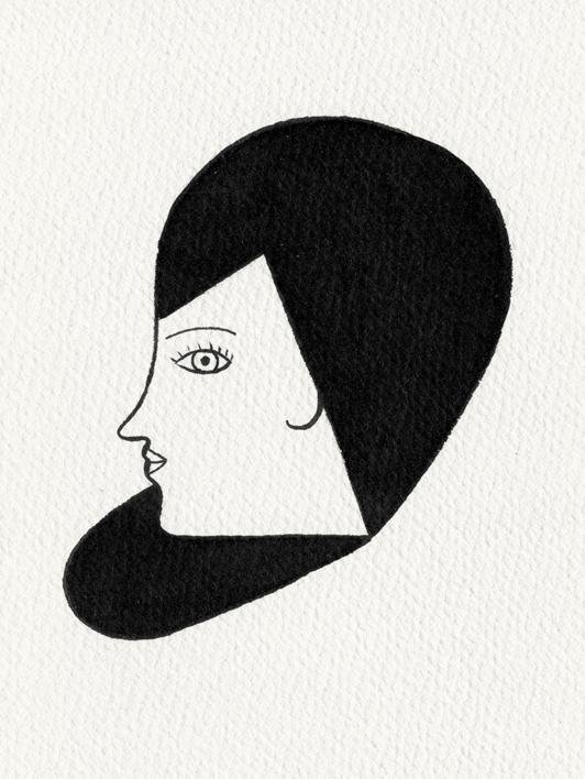Rostro  Dibujo de Marta Antelo   Compra arte en Flecha.es