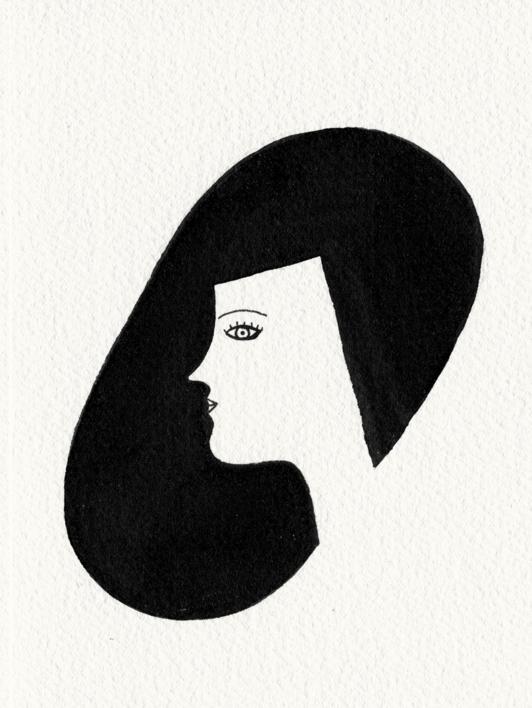 Rostro |Dibujo de Marta Antelo | Compra arte en Flecha.es
