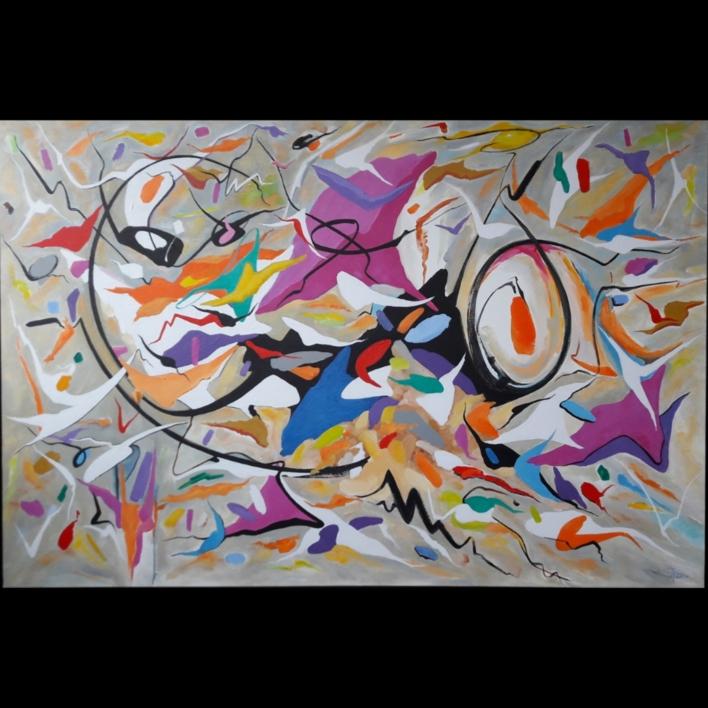 Coming back to life  Pintura de Valeriano Cortázar   Compra arte en Flecha.es
