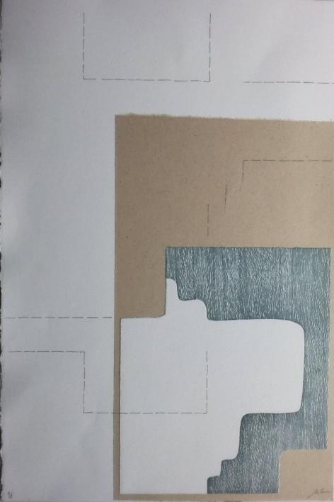 Temporal II |Obra gráfica de Cruz Sánchez | Compra arte en Flecha.es