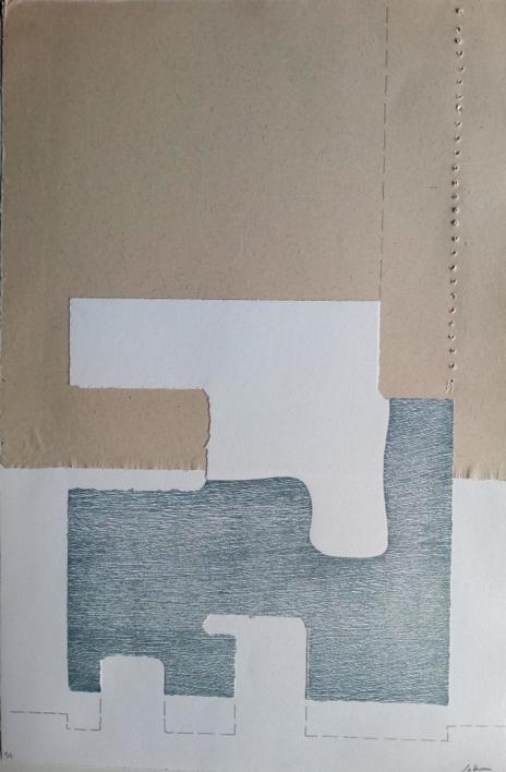 Temporal I |Obra gráfica de Cruz Sánchez | Compra arte en Flecha.es