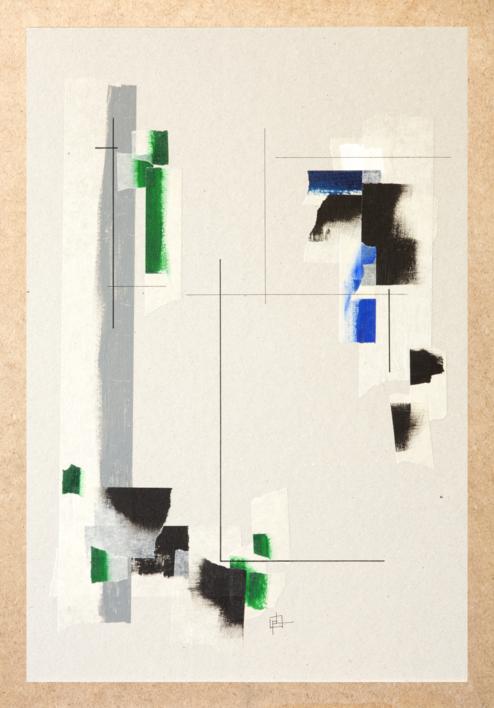 Construcción Mental 05  Collage de Pablo Pérez Palacio   Compra arte en Flecha.es