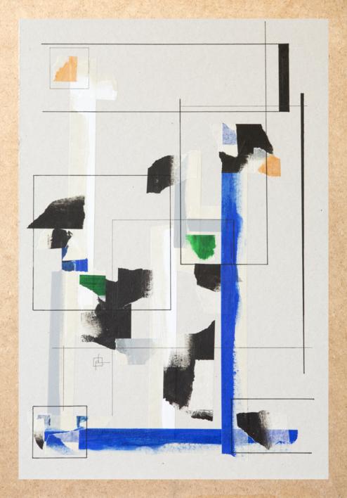 Construcción Mental 10 |Collage de Pablo Pérez Palacio | Compra arte en Flecha.es
