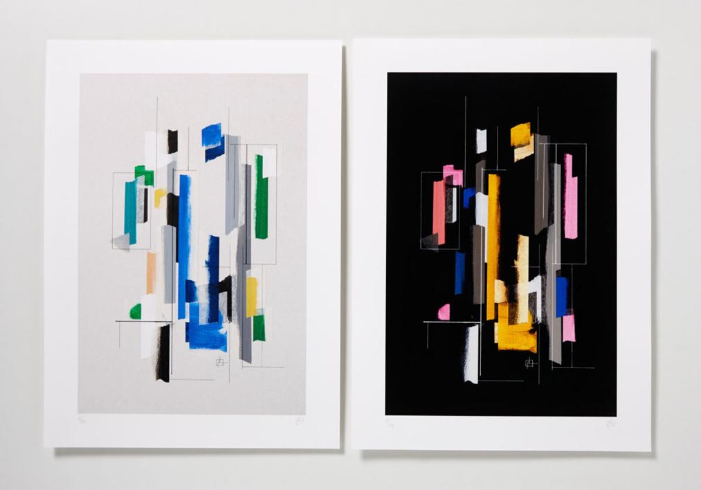 El Color como Metáfora |Collage de Pablo Pérez Palacio | Compra arte en Flecha.es