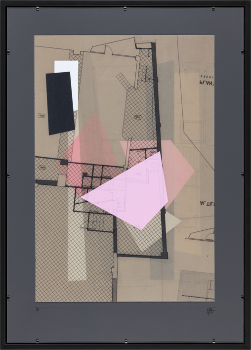 Fragemnto de un espacio propio 15 |Collage de Pablo Pérez Palacio | Compra arte en Flecha.es