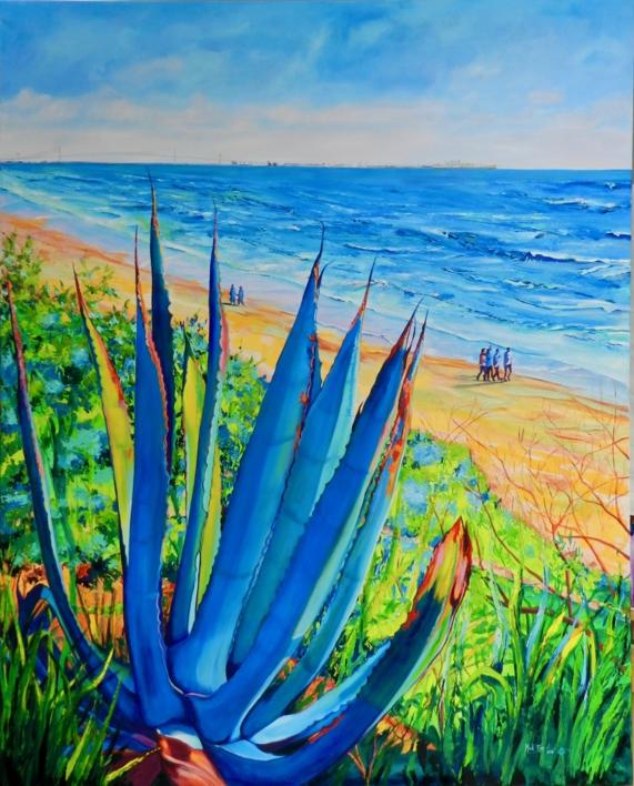 Santa Catalina |Pintura de Maite Rodriguez | Compra arte en Flecha.es