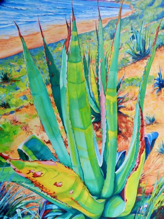 Fuentebravía |Pintura de Maite Rodriguez | Compra arte en Flecha.es