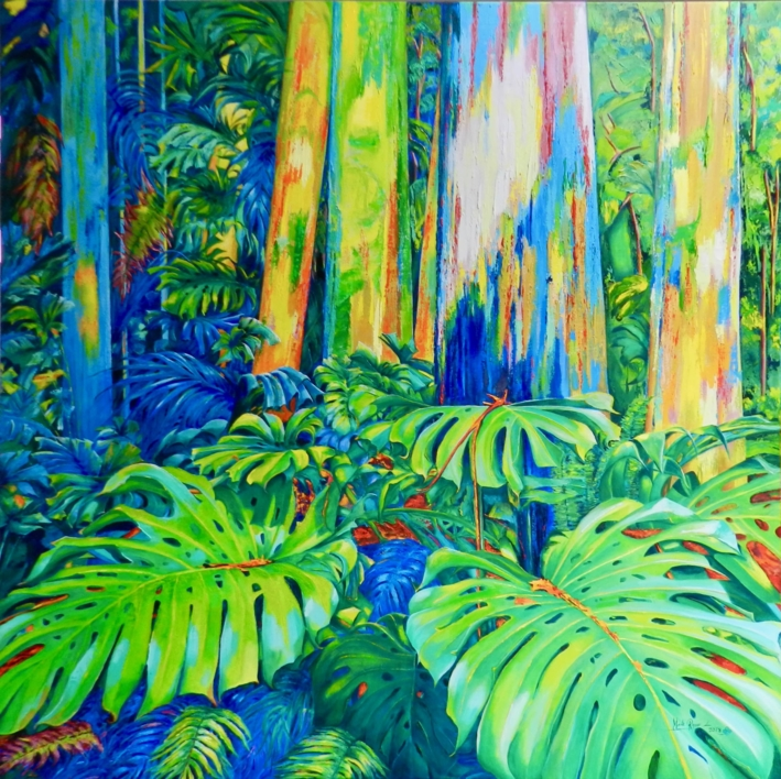 Diamond Island II |Pintura de Maite Rodriguez | Compra arte en Flecha.es