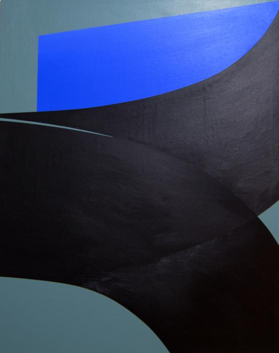 Curve Fold #01 |Pintura de Rodrigo Martín | Compra arte en Flecha.es