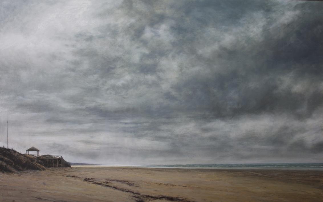 Un brillo cayó del cielo |Pintura de Bartolomé Junquero | Compra arte en Flecha.es