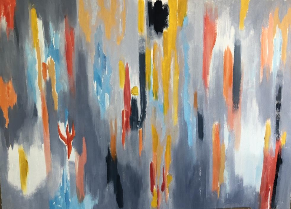 GRIS I |Pintura de Iraide Garitaonandia | Compra arte en Flecha.es