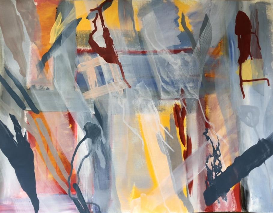 Mapa de sensaciones II |Pintura de Iraide Garitaonandia | Compra arte en Flecha.es