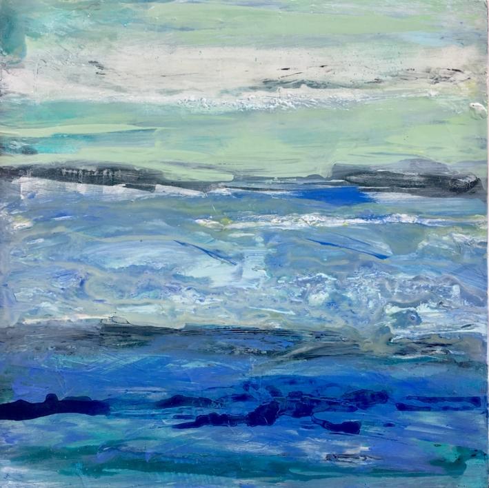 Mares |Pintura de Erika Nolte | Compra arte en Flecha.es