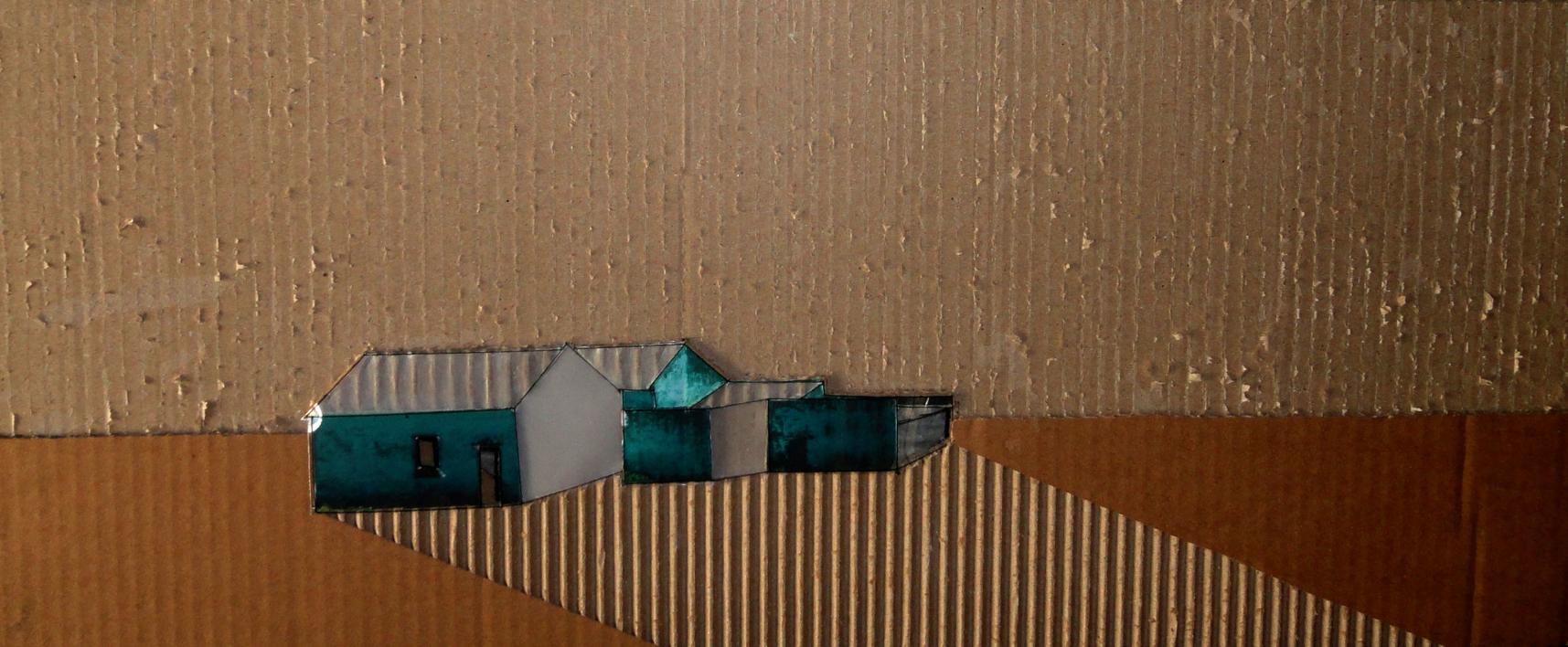 Cortijo  Collage de Ana Pellón   Compra arte en Flecha.es