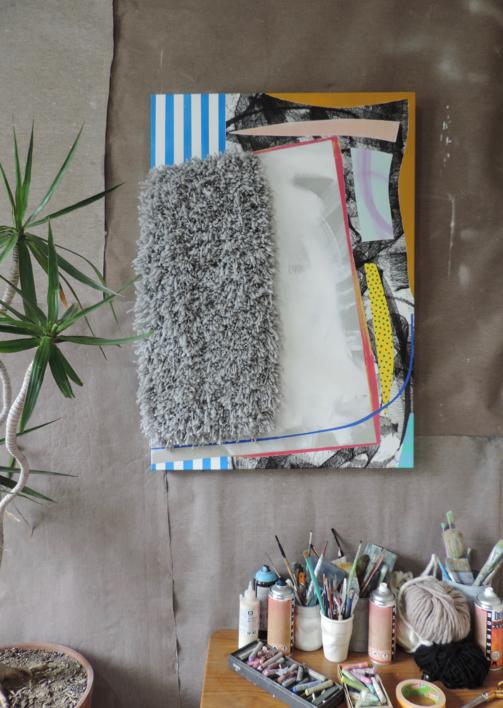 PARIS, TEXAS   Pintura de Nadia Jaber   Compra arte en Flecha.es