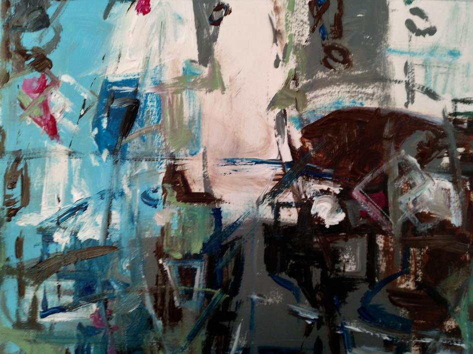 Tierra 01 |Pintura de Manuel Berbel | Compra arte en Flecha.es