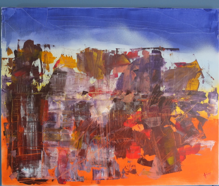 AGORA |Pintura de Tines | Compra arte en Flecha.es