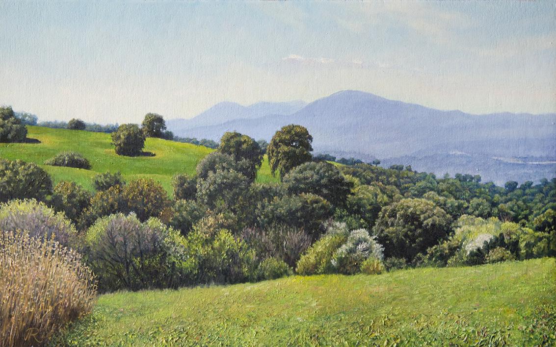 Mañana de primavera |Pintura de Javier Ramos Julián | Compra arte en Flecha.es