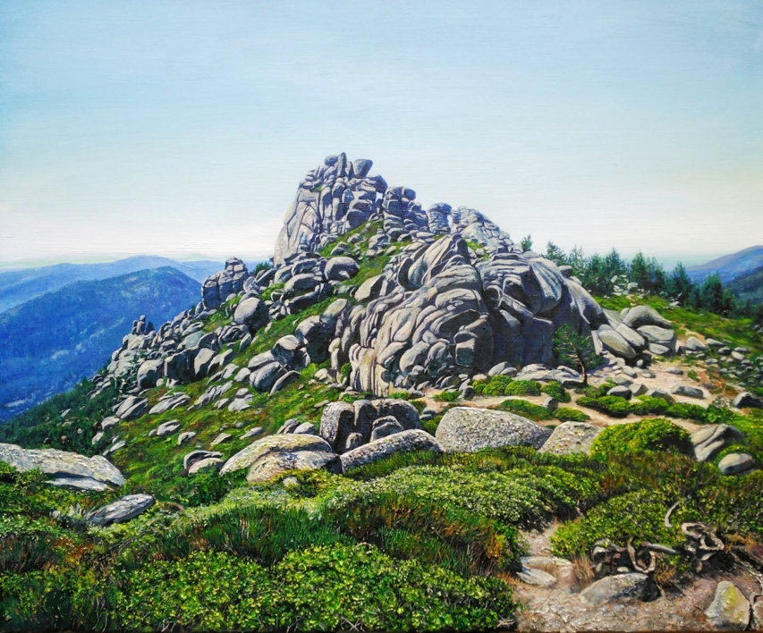 El Tercer Pico |Pintura de Javier Ramos Julián | Compra arte en Flecha.es