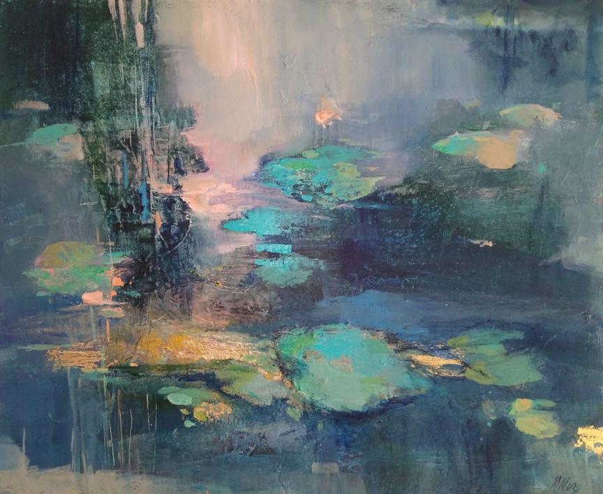 A Moment of Reflection 2 |Pintura de Magdalena Morey | Compra arte en Flecha.es