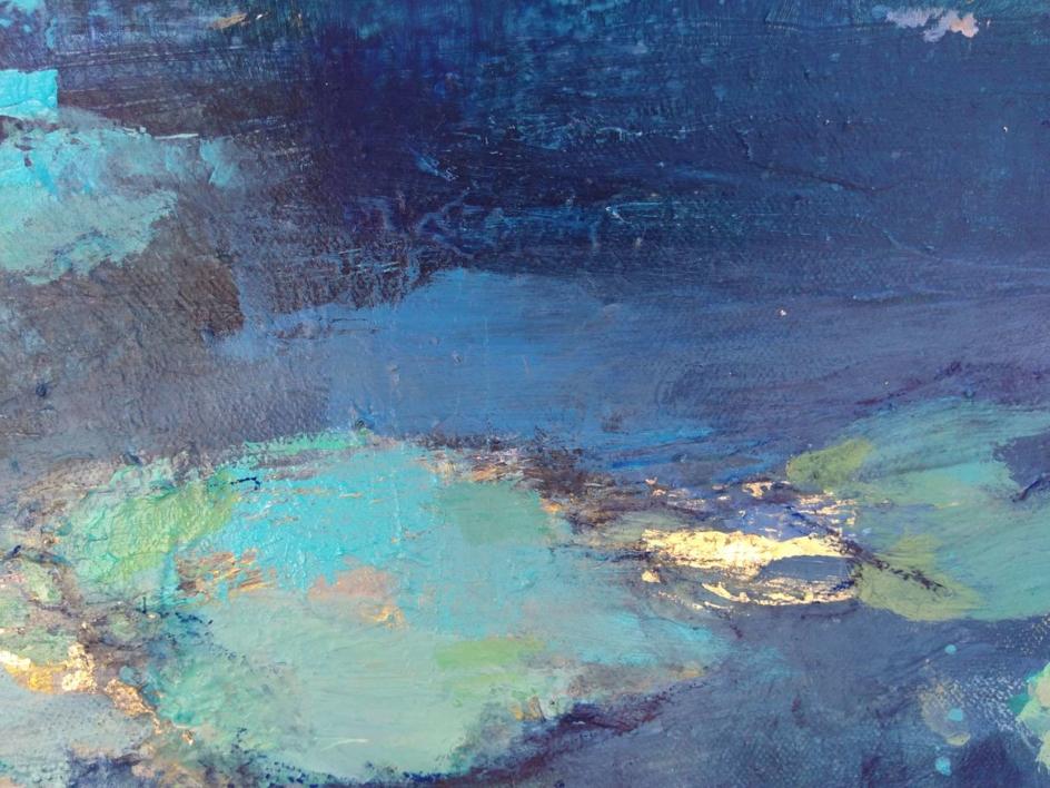 A Moment of Reflection 2 | Pintura de Magdalena Morey | Compra arte en Flecha.es