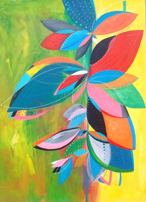 Natura Inspira |Pintura de ANALIA MALOSETTI | Compra arte en Flecha.es