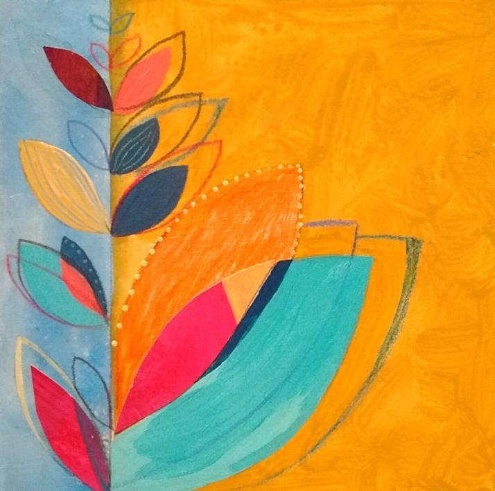 S/T de la Serie Natura Inspira |Pintura de ANALIA MALOSETTI | Compra arte en Flecha.es