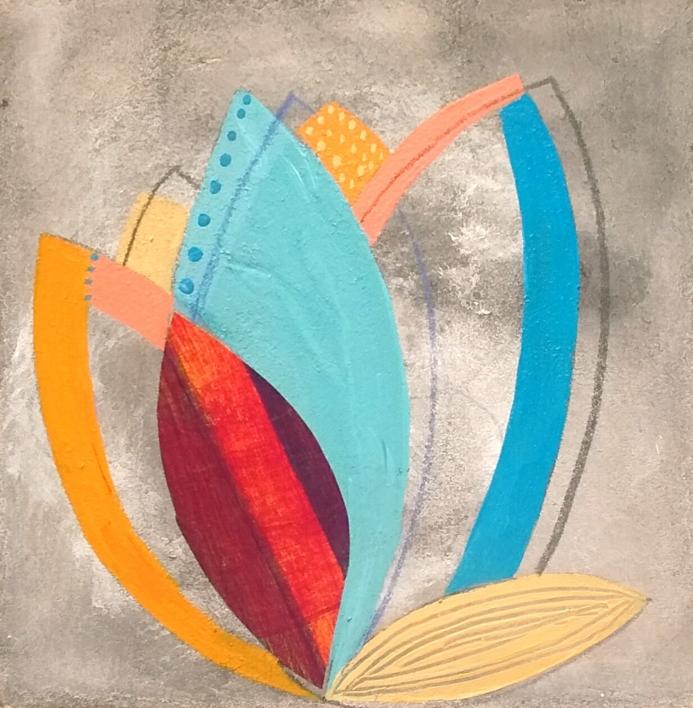 S/T de la Serie Natura Inspira  Pintura de ANALIA MALOSETTI   Compra arte en Flecha.es