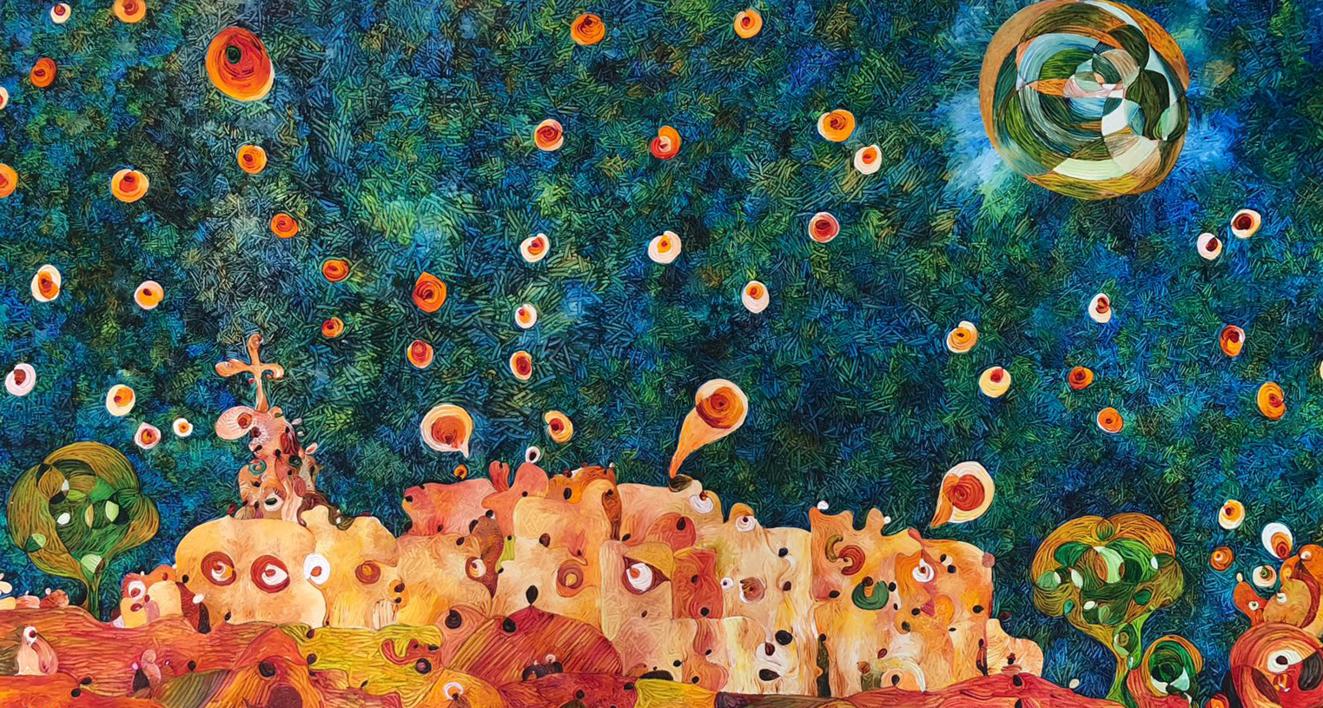 Belén Y Nazaret Ilustración De Richard Martin Compra Arte En Flecha