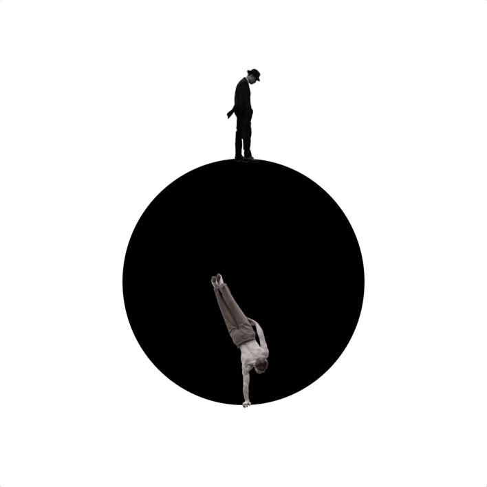 Agujero negro nº1 |Collage de Gabriel Aranguren | Compra arte en Flecha.es