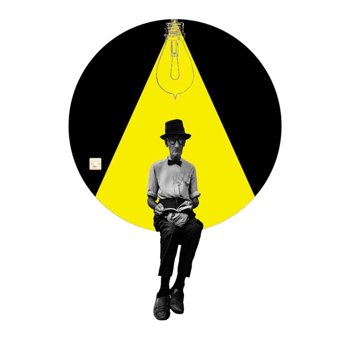 Agujero negro Nº3  Collage de Gabriel Aranguren   Compra arte en Flecha.es