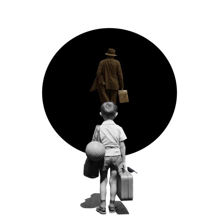 Agujero Negro nº 6 |Collage de Gabriel Aranguren | Compra arte en Flecha.es